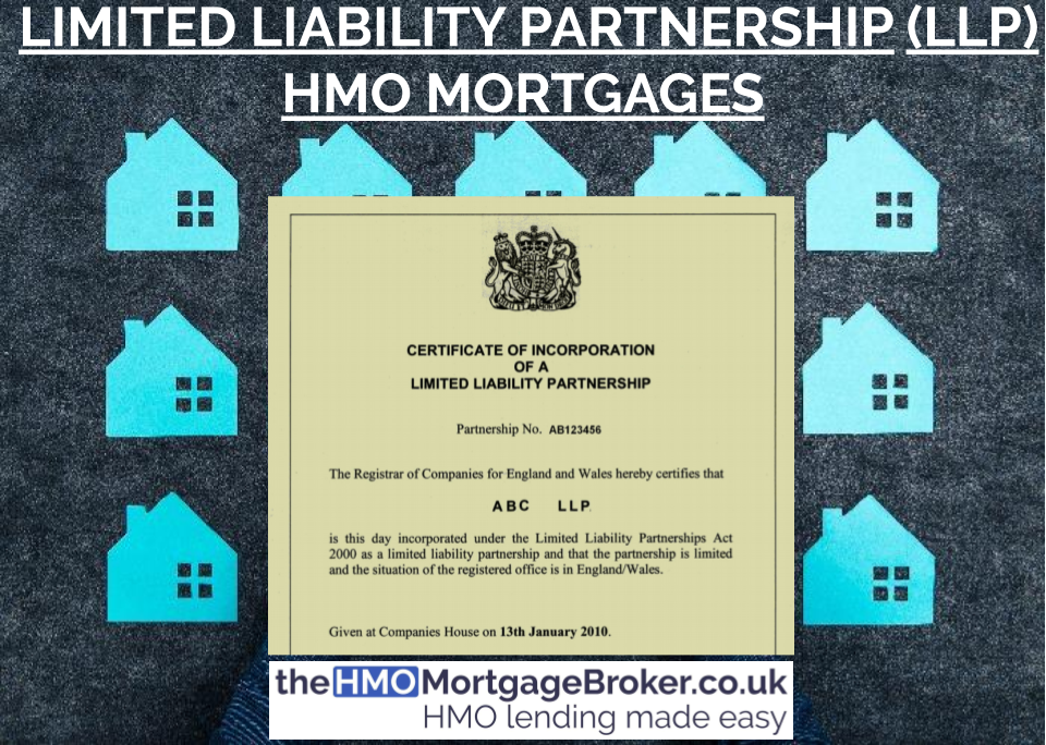 Limited Liability Partnership (LLP) HMO Mortgages